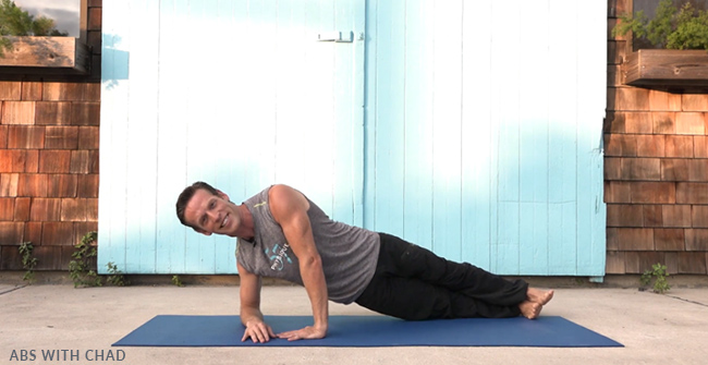 Side Plank with Chad