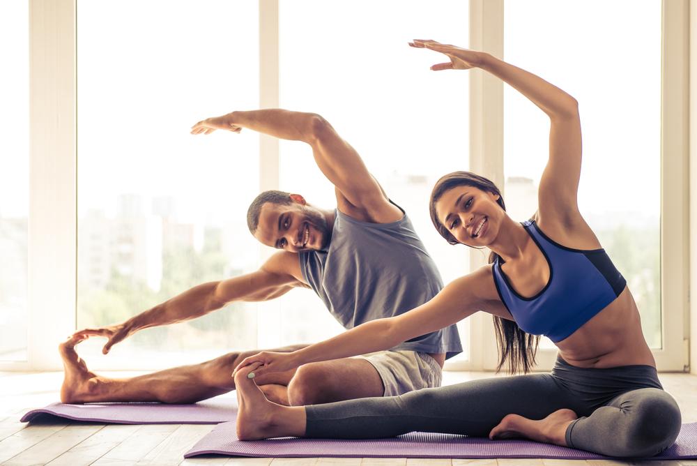 yoga in pairs
